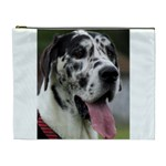 Great Dane harlequin  Cosmetic Bag (XL) Front