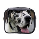 Great Dane harlequin  Mini Toiletries Bag 2-Side Front
