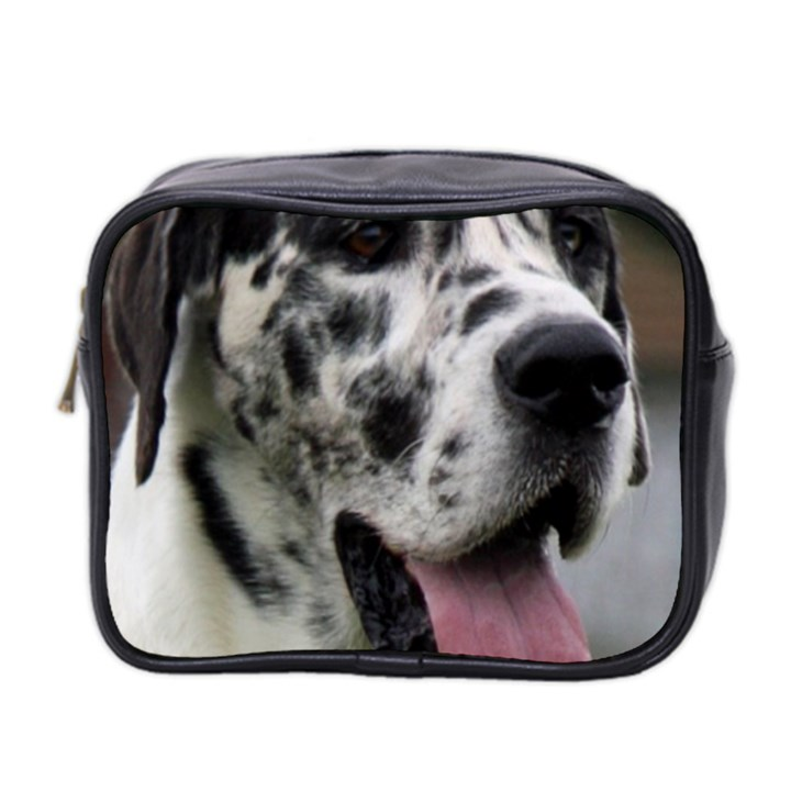 Great Dane harlequin  Mini Toiletries Bag 2-Side