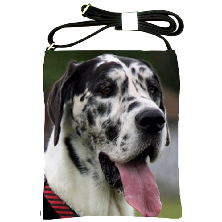 Great Dane harlequin  Shoulder Sling Bags