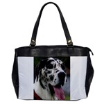 Great Dane harlequin  Office Handbags Front