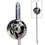 Great Dane harlequin  Book Mark Front