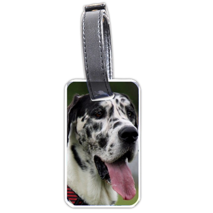 Great Dane harlequin  Luggage Tags (One Side)