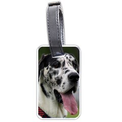 Great Dane harlequin  Luggage Tags (Two Sides)