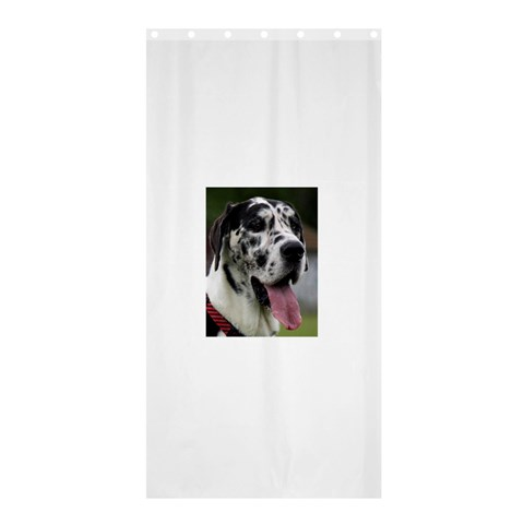 Great Dane harlequin  Shower Curtain 36  x 72  (Stall)