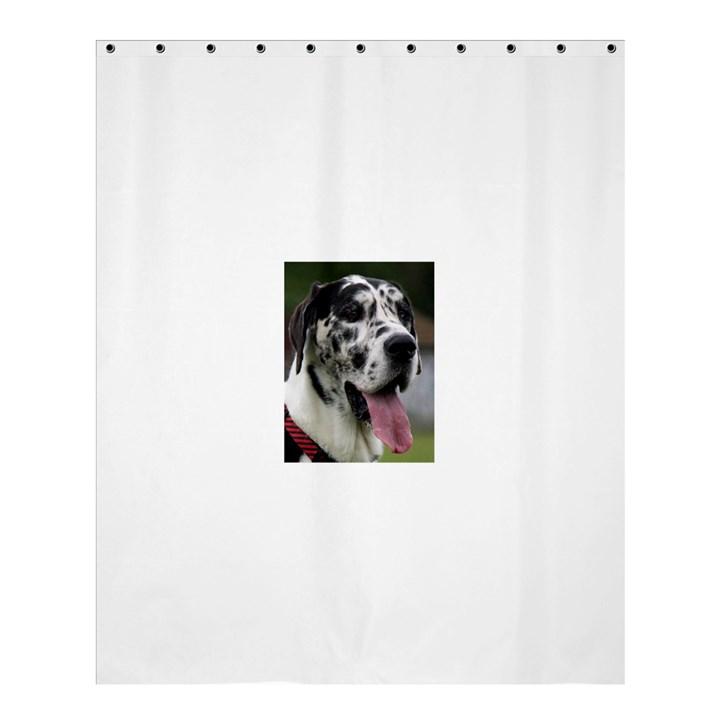 Great Dane harlequin  Shower Curtain 60  x 72  (Medium)