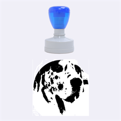 Great Dane harlequin  Rubber Round Stamps (Medium)
