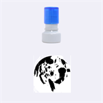 Great Dane harlequin  Rubber Round Stamps (Small) 1.12 x1.12  Stamp