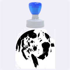 Great Dane harlequin  Rubber Round Stamps (Large)