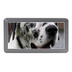 Great Dane harlequin  Memory Card Reader (Mini)