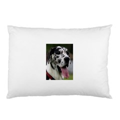 Great Dane harlequin  Pillow Case (Two Sides)