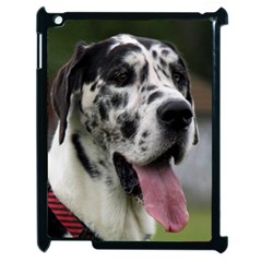 Great Dane harlequin  Apple iPad 2 Case (Black)