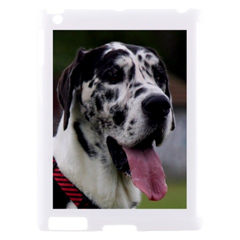 Great Dane harlequin  Apple iPad 2 Hardshell Case (Compatible with Smart Cover)