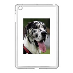 Great Dane harlequin  Apple iPad Mini Case (White)