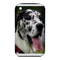 Great Dane harlequin  Apple iPhone 3G/3GS Hardshell Case (PC+Silicone)