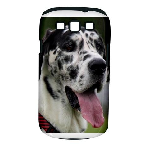 Great Dane harlequin  Samsung Galaxy S III Classic Hardshell Case (PC+Silicone)