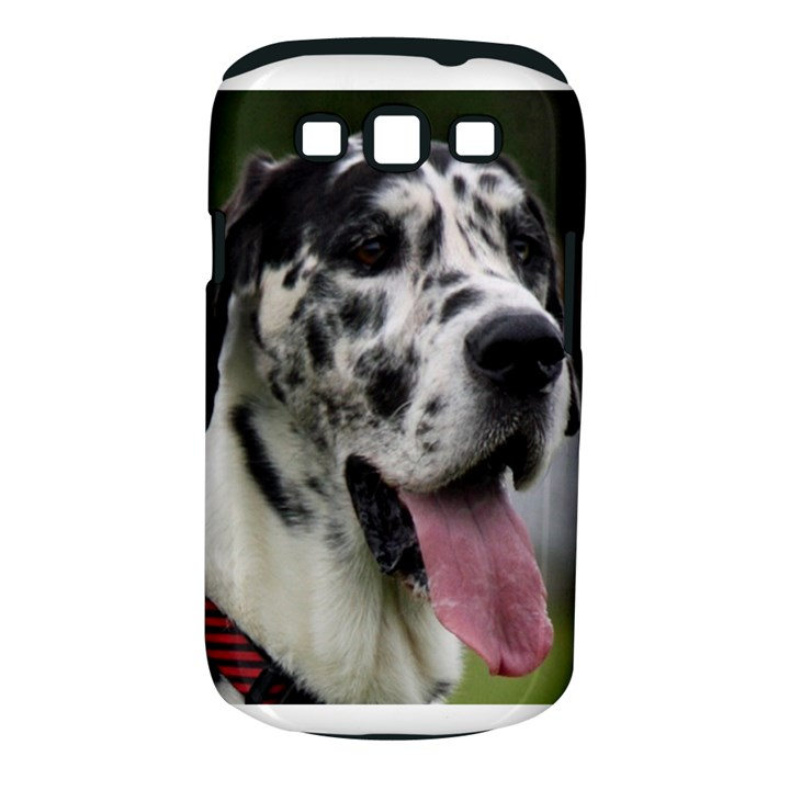 Great Dane harlequin  Samsung Galaxy S III Classic Hardshell Case (PC+Silicone)