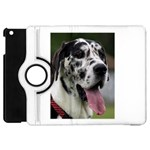 Great Dane harlequin  Apple iPad Mini Flip 360 Case Front