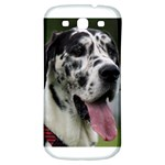 Great Dane harlequin  Samsung Galaxy S3 S III Classic Hardshell Back Case Front