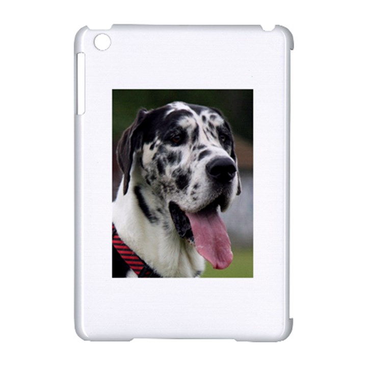 Great Dane harlequin  Apple iPad Mini Hardshell Case (Compatible with Smart Cover)