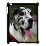 Great Dane harlequin  Apple iPad 3/4 Case (Black) Front