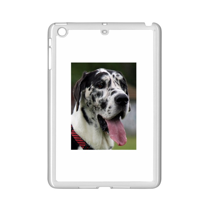 Great Dane harlequin  iPad Mini 2 Enamel Coated Cases