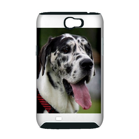 Great Dane harlequin  Samsung Galaxy Note 2 Hardshell Case (PC+Silicone)