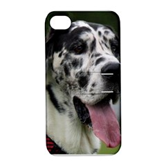 Great Dane harlequin  Apple iPhone 4/4S Hardshell Case with Stand
