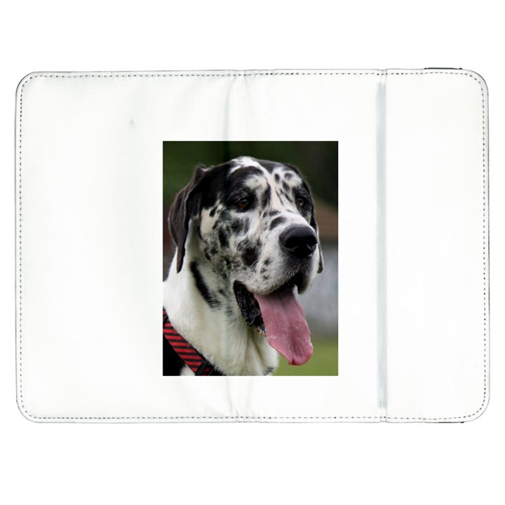 Great Dane harlequin  Samsung Galaxy Tab 7  P1000 Flip Case