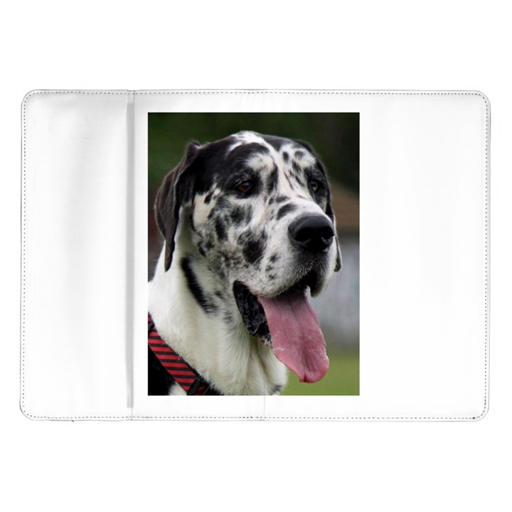 Great Dane harlequin  Samsung Galaxy Tab 10.1  P7500 Flip Case