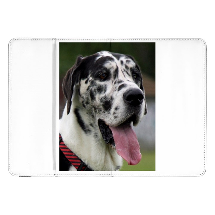 Great Dane harlequin  Samsung Galaxy Tab 8.9  P7300 Flip Case