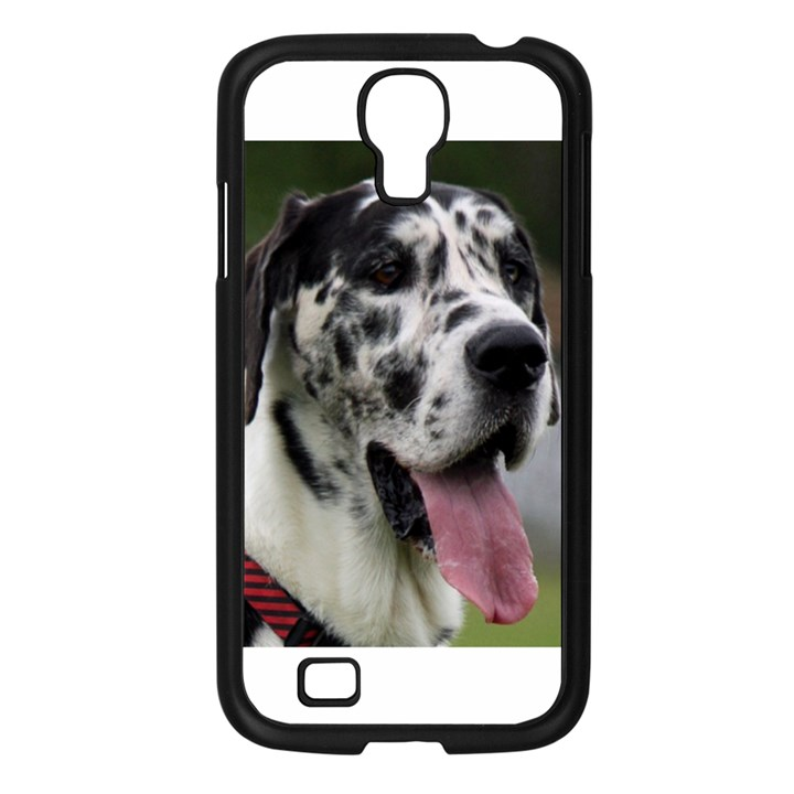 Great Dane harlequin  Samsung Galaxy S4 I9500/ I9505 Case (Black)