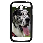 Great Dane harlequin  Samsung Galaxy Grand DUOS I9082 Case (Black) Front