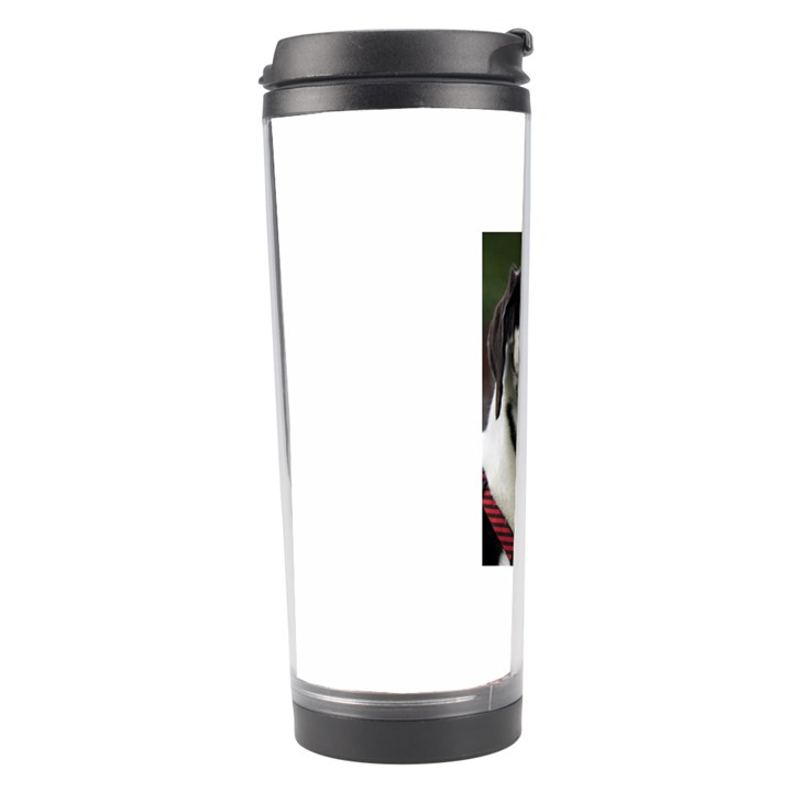 Great Dane harlequin  Travel Tumbler