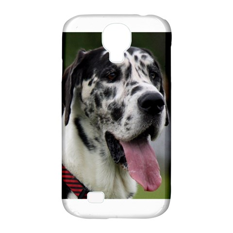 Great Dane harlequin  Samsung Galaxy S4 Classic Hardshell Case (PC+Silicone)