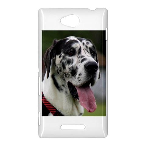 Great Dane harlequin  Sony Xperia C (S39H)