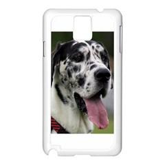 Great Dane harlequin  Samsung Galaxy Note 3 N9005 Case (White)