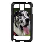 Great Dane harlequin  Samsung Galaxy Note 3 N9005 Case (Black) Front