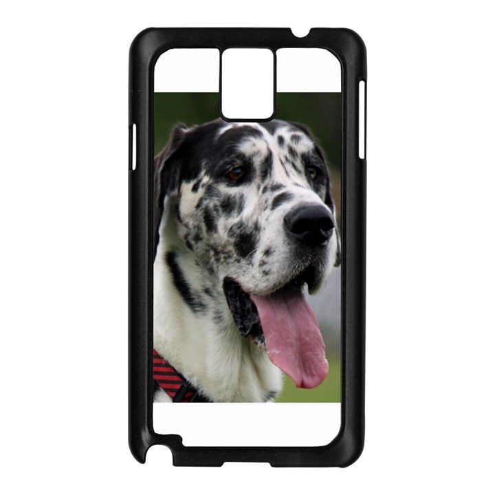 Great Dane harlequin  Samsung Galaxy Note 3 N9005 Case (Black)