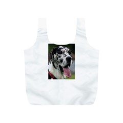 Great Dane harlequin  Full Print Recycle Bags (S)
