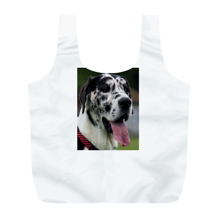 Great Dane harlequin  Full Print Recycle Bags (L)