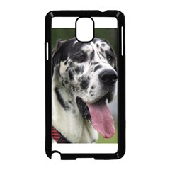 Great Dane harlequin  Samsung Galaxy Note 3 Neo Hardshell Case (Black)