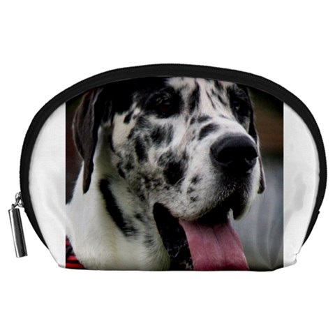 Great Dane harlequin  Accessory Pouches (Large)
