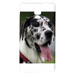 Great Dane harlequin  Galaxy Note 4 Back Case Front