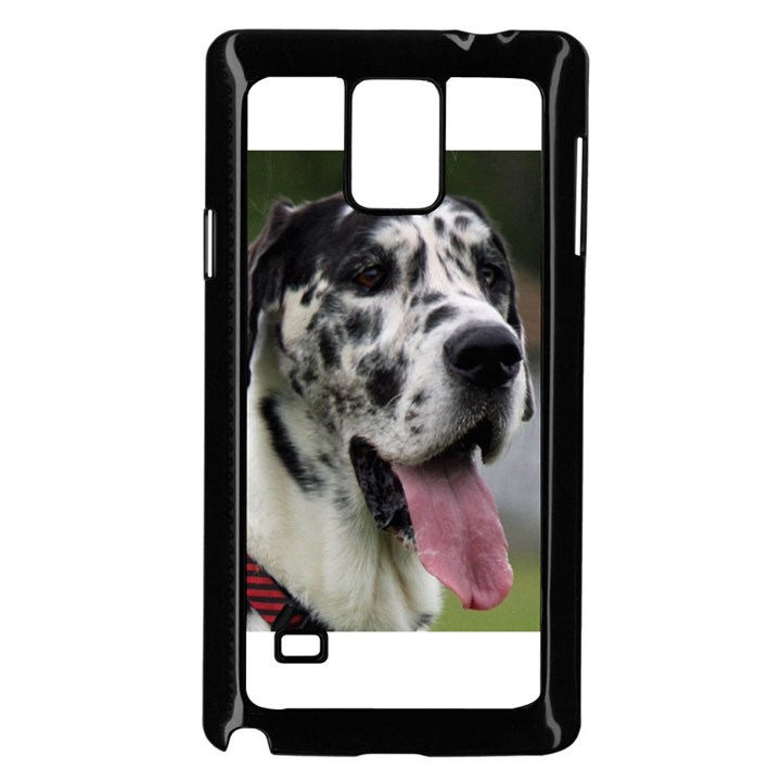 Great Dane harlequin  Samsung Galaxy Note 4 Case (Black)