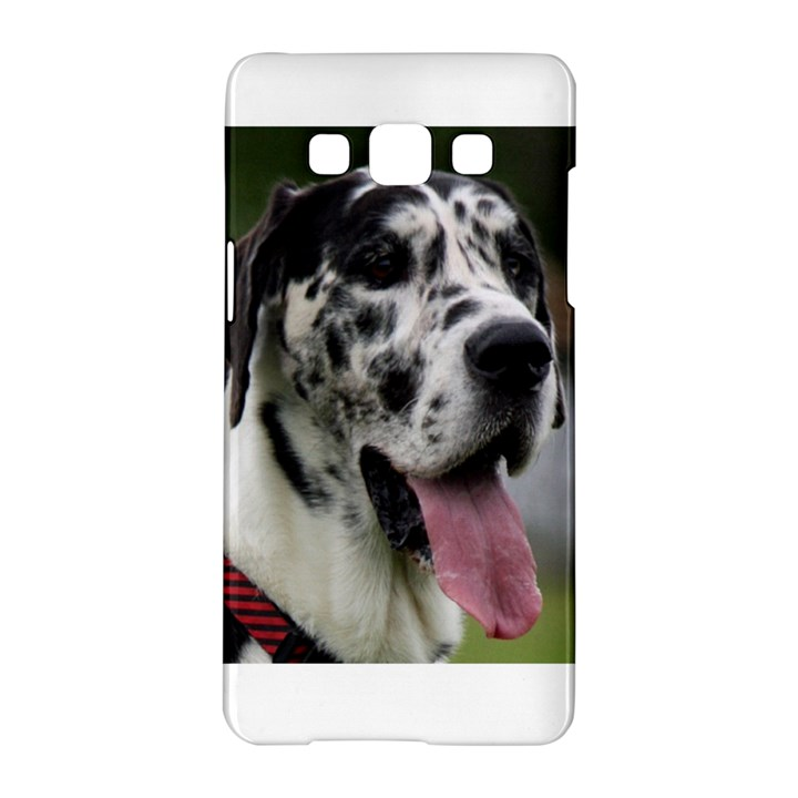 Great Dane harlequin  Samsung Galaxy A5 Hardshell Case