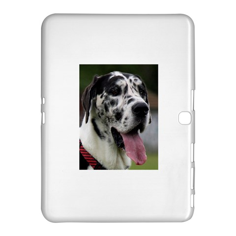Great Dane harlequin  Samsung Galaxy Tab 4 (10.1 ) Hardshell Case