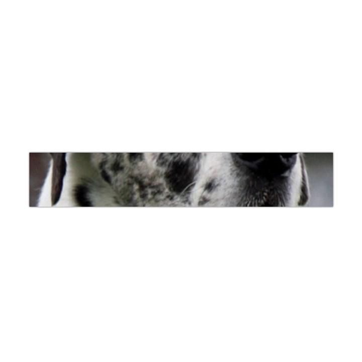 Great Dane harlequin  Flano Scarf (Mini)
