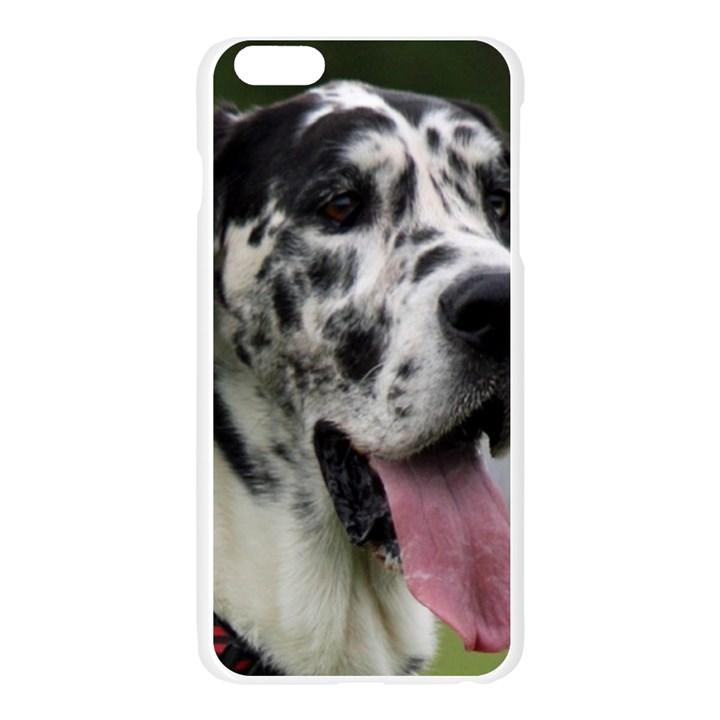 Great Dane harlequin  Apple Seamless iPhone 6 Plus/6S Plus Case (Transparent)