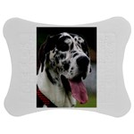 Great Dane harlequin  Jigsaw Puzzle Photo Stand (Bow) Front